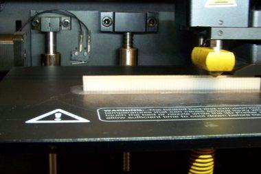 Image 3D Printing a Client Part